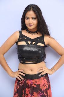 Shriya Vyas in a Tight Backless Sleeveless Crop top and Skirt 148.JPG