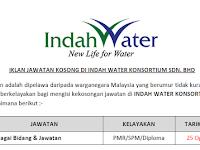 Jawatan Kosong Terkini 2019 Di Indah Water Konsortium Sdn Bhd - Tetap/ Kontrak