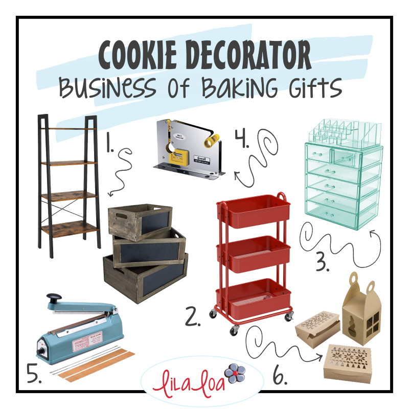 Business of Baking gift ideas for cookie decorators for Christmas