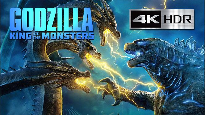 Godzilla II: El rey de los monstruos (2019) Web-DL 4K UHD [HDR] Latino-Ingles