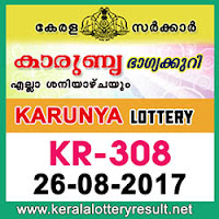 KERALA LOTTERY, kl result yesterday,lottery results, lotteries results, keralalotteries, kerala lottery, keralalotteryresult, kerala lottery result,   kerala lottery result live, kerala lottery results, kerala lottery today, kerala lottery result today, kerala lottery results today, today kerala lottery   result, kerala lottery result 26-08-2017, Karunya lottery results, kerala lottery result today Karunya, Karunya lottery result, kerala lottery result   Karunya today, kerala lottery Karunya today result, Karunya kerala lottery result, KARUNYA LOTTERY KR 308 RESULTS 26-08-2017,   KARUNYA LOTTERY KR 308, live KARUNYA LOTTERY KR-308, Karunya lottery, kerala lottery today result Karunya, KARUNYA   LOTTERY KR-308, today Karunya lottery result, Karunya lottery today result, Karunya lottery results today, today kerala lottery result   Karunya, kerala lottery results today Karunya, Karunya lottery today, today lottery result Karunya, Karunya lottery result today, kerala lottery   result live, kerala lottery bumper result, kerala lottery result yesterday, kerala lottery result today, kerala online lottery results, kerala lottery   draw, kerala lottery results, kerala state lottery today, kerala lottare, keralalotteries com kerala lottery result, lottery today, kerala lottery   today draw result