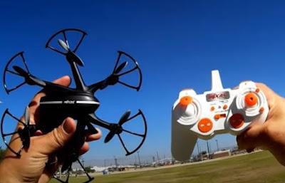 spesifikasi Drone MJX X800