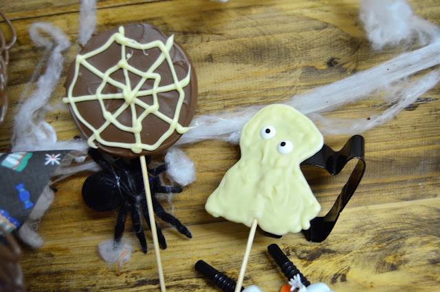 Halloween, comidas Halloween, recetas para Halloween, recetas Halloween, piruletas para Halloween, chocolate, mesas dulces, mesas dulces para Halloween, Halloween 2018, las delicias de mayte,