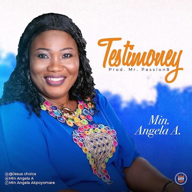 [Gospel music] Min.Angela A. – Testimony