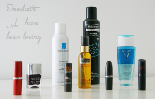 Products I have been loving #1