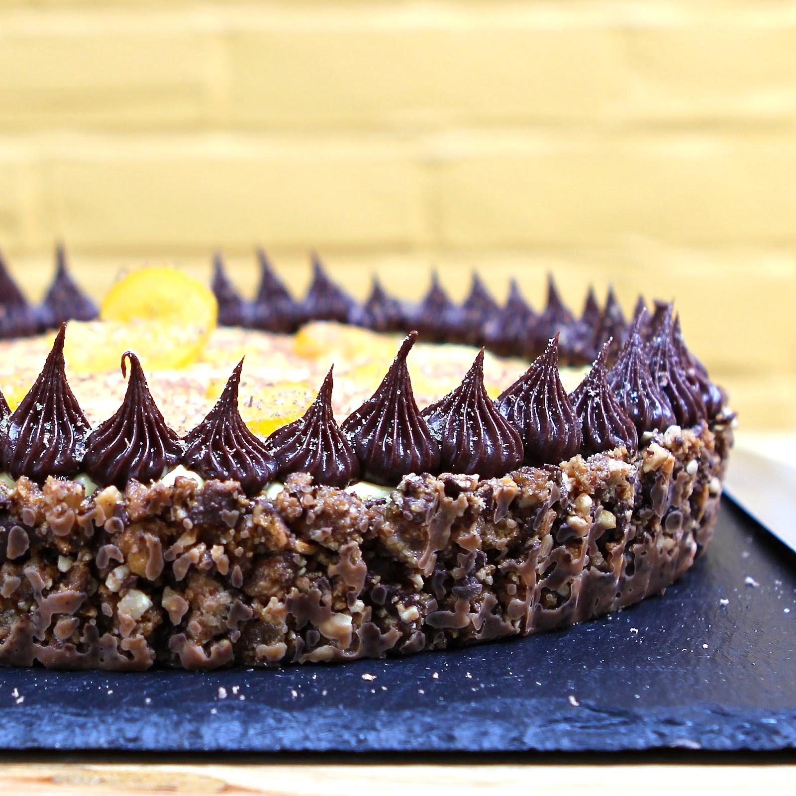 Dark Chocolate Ginger Cake
