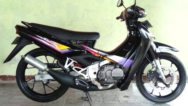 Suzuki Satria lumba 120s 2 tak