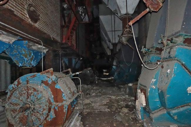 Abandoned Wyman-Gordon Power Plant in Dixmoor Illinois