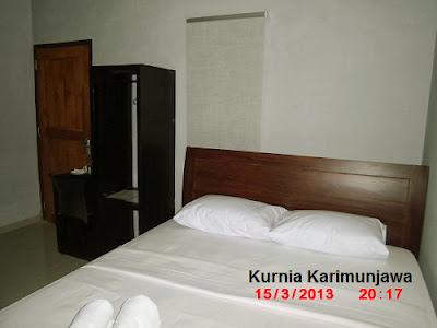 kamar di hotel new ocean karimunjawa