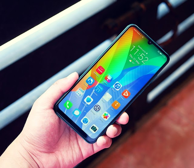 Huawei y6p  new design phone 2020