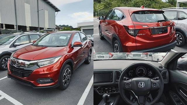 Honda HRV V Spec