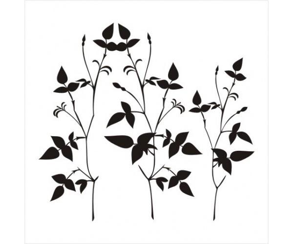 Colorir E Pintar: Lindos Desenhos De Plantas Arvores E Flores