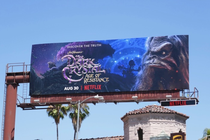 Dark Crystal Age of Resistance season 1 billboard