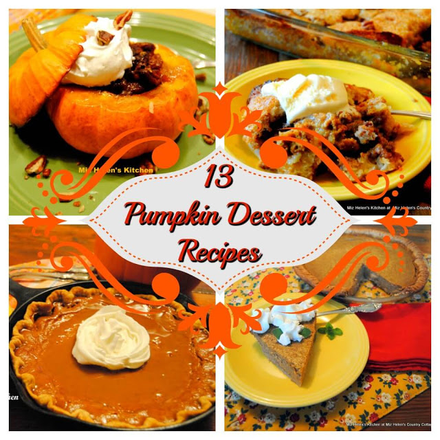 13 Pumpkin Dessert Recipes