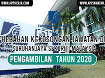 Jawatan Kosong di Suruhanjaya Sekuriti Malaysia