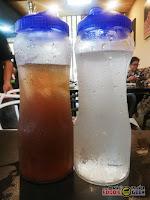 water, iced tea, drinks, refreshments, All4U Unlimited Grill & Shabu Shabu, Masinag