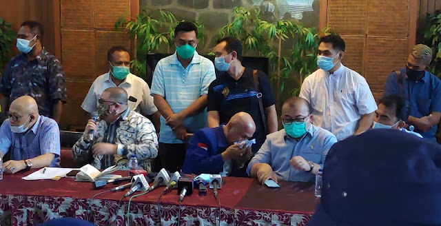 Darmizal Terisak Sesali Bantu SBY Jadi Ketum Demokrat, Syahrial Nasution: Air Mata Buaya