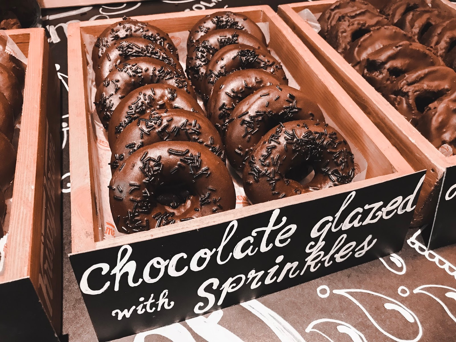 krispy kreme original glaze chocolate