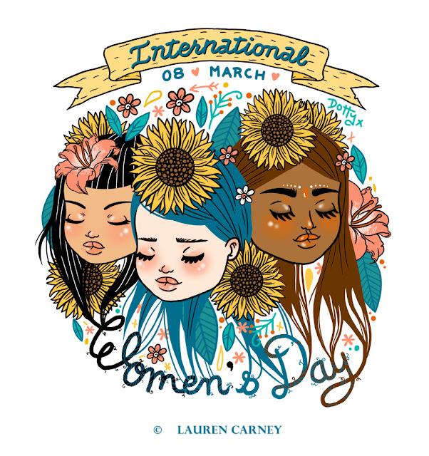 international women's day, iwd2013, girls, feminism, feminist, art, design, colour culture