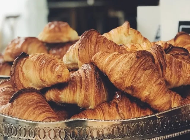 aprende ingles postre cruasan croissant media luna