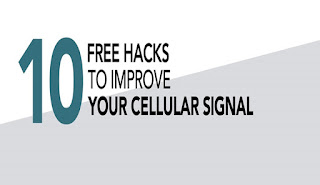 10 Free Ways to Get Better Cell Service #infographic