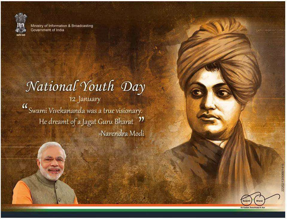 National Youth Day Wishes pics free download