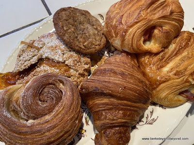 pastries from  Fournee Bakery in Berkeley, California