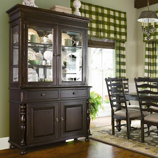beautiful china cabinet from Paula Deen