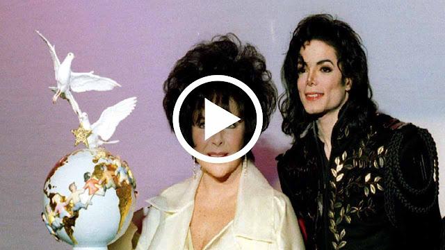 RARE VIDEO - Michael Jackson presenting Elizabeth Taylor the Jackson Family Honor Award 1994