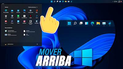 mover barra de tareas
