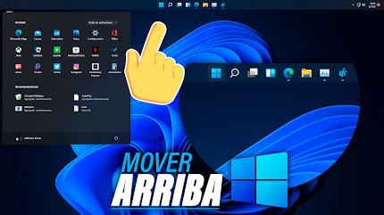 Mover BARRA DE TAREAS a la Parte SUPERIOR Windows 11