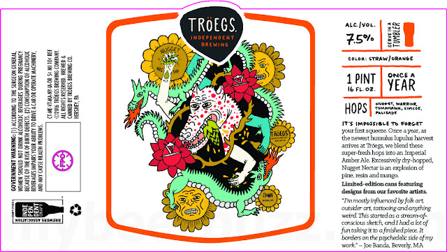 Troegs Adding Nugget Nectar 16oz Limited Edition Art Cans