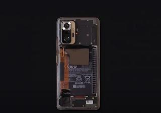 تفكيك هاتف Xiaomi Redmi Note 10 Pro (Max)