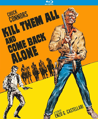 Cover art for Kino Lorber's KILL THEM ALL AND COME BACK ALONE!