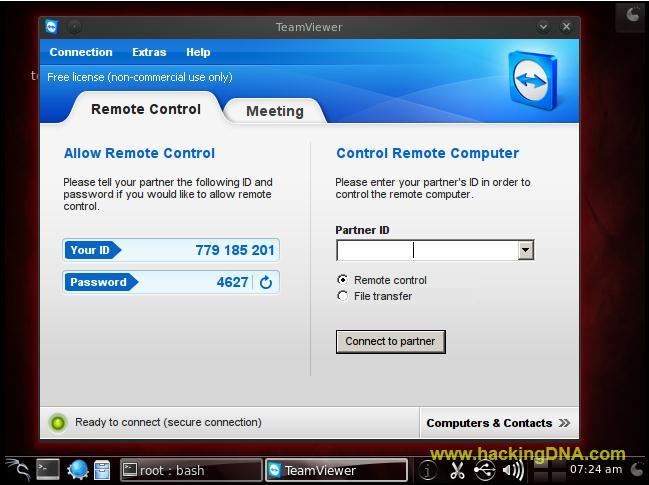 HackingDNA: TeamViewer On BackTrack 5