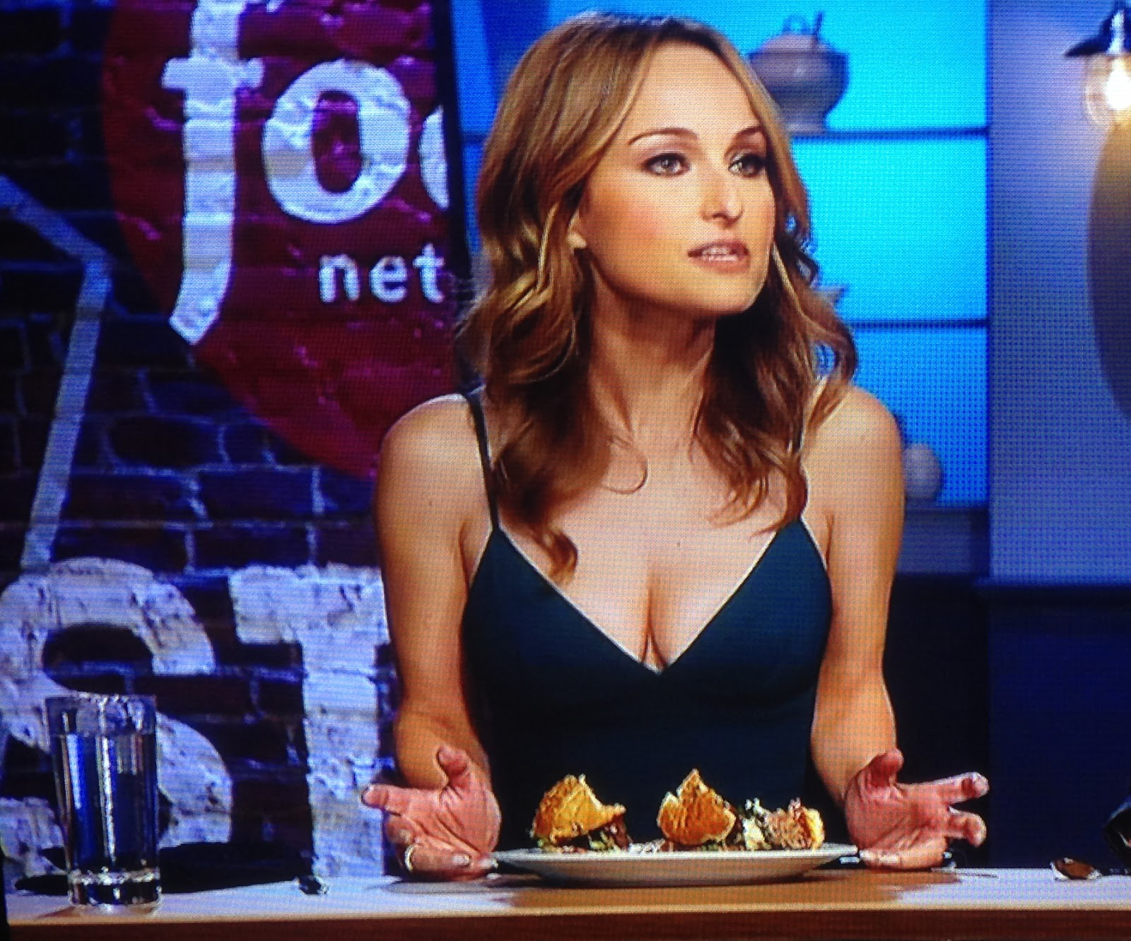 Food Network Star Cleavage