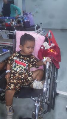 Gibran, Bocah Pengidap Tumor Otak Asal Lampung Timur Menghembuskan Nafas Terakhir