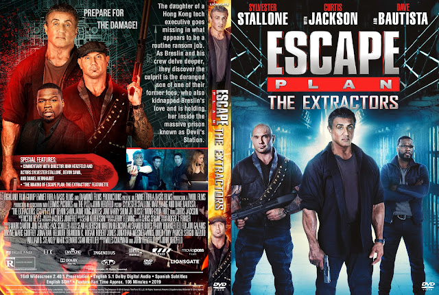 Escape Plan: The Extractors DVD Cover