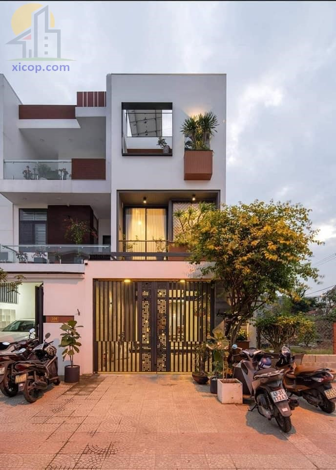 Mẫu nhà 3 tầng mặt tiền 4m đẹp với đầy đủ công năng nhà phố