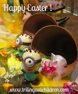 minions easter eggs italian chocolate