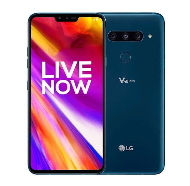 LG V40 ThinQ Receiving a New Update in India With Wi-Fi Calling Support, March Security Patch