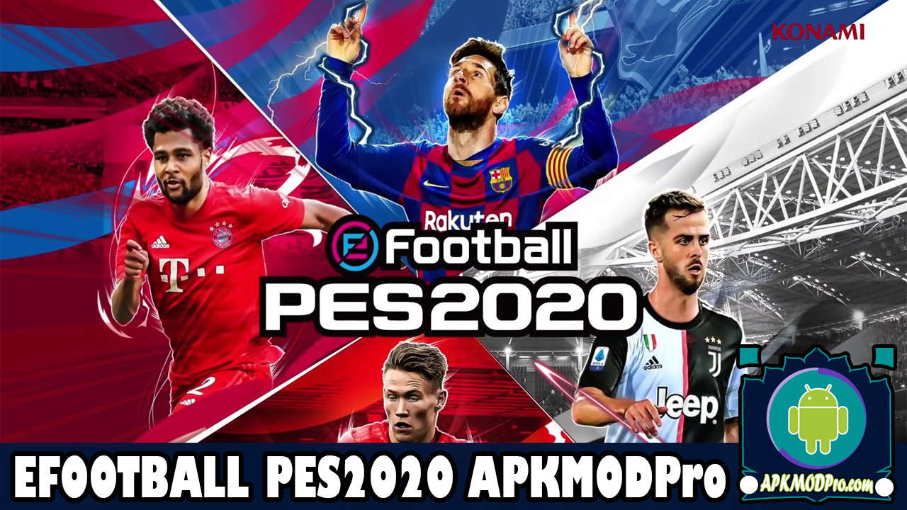 Download eFootball PES 2020 MOD APK 4.1.1 (Unlimited Money) Terbaru 2020