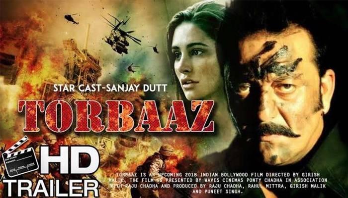 Sanjay dutt ke film torbaaz ka trailer netflix par release hua.