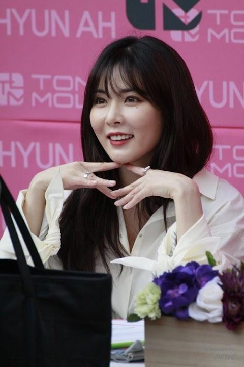 ✰PHOTO✰ Hyuna na Tony Moly fansign