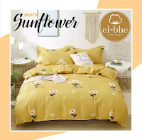 sprei elbhe sunflower
