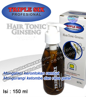 TRIPLE SIX HAIR TONIC GINSENG Rp.160.000,-