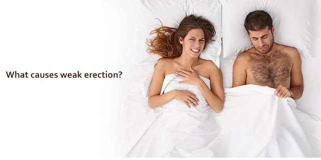 What Causes a Weak Erection?