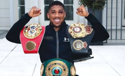 FOR REAL? Nigeria's Anthony Joshua Could Be Forced To Vacate IBF Title