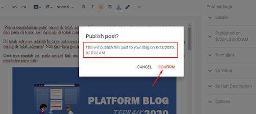 Pentingnya Menjadwalkan Postingan Blog Dengan Tepat