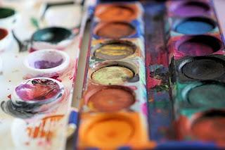MIXED MEDIA - tecnica mista ad olio corsi-pittura-milano